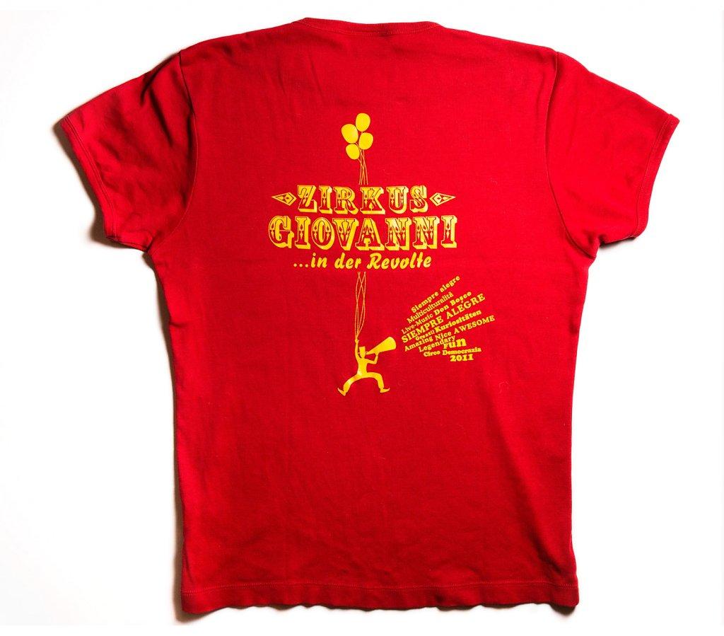 TShirts Zirkus Giovanni