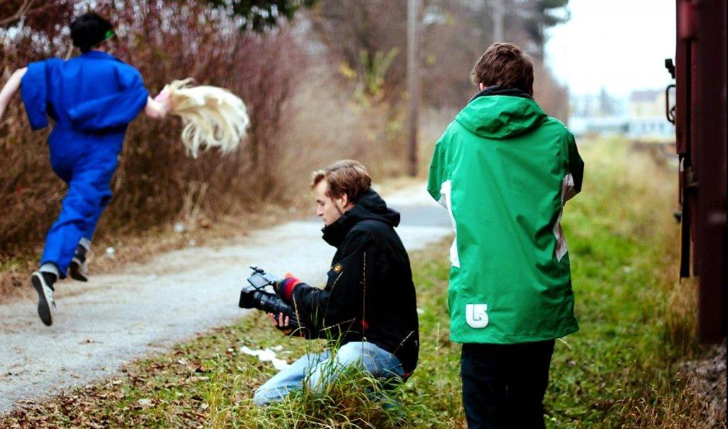 foto taken by Tereza Mundilova/ Benedikt bei der Arbeit
